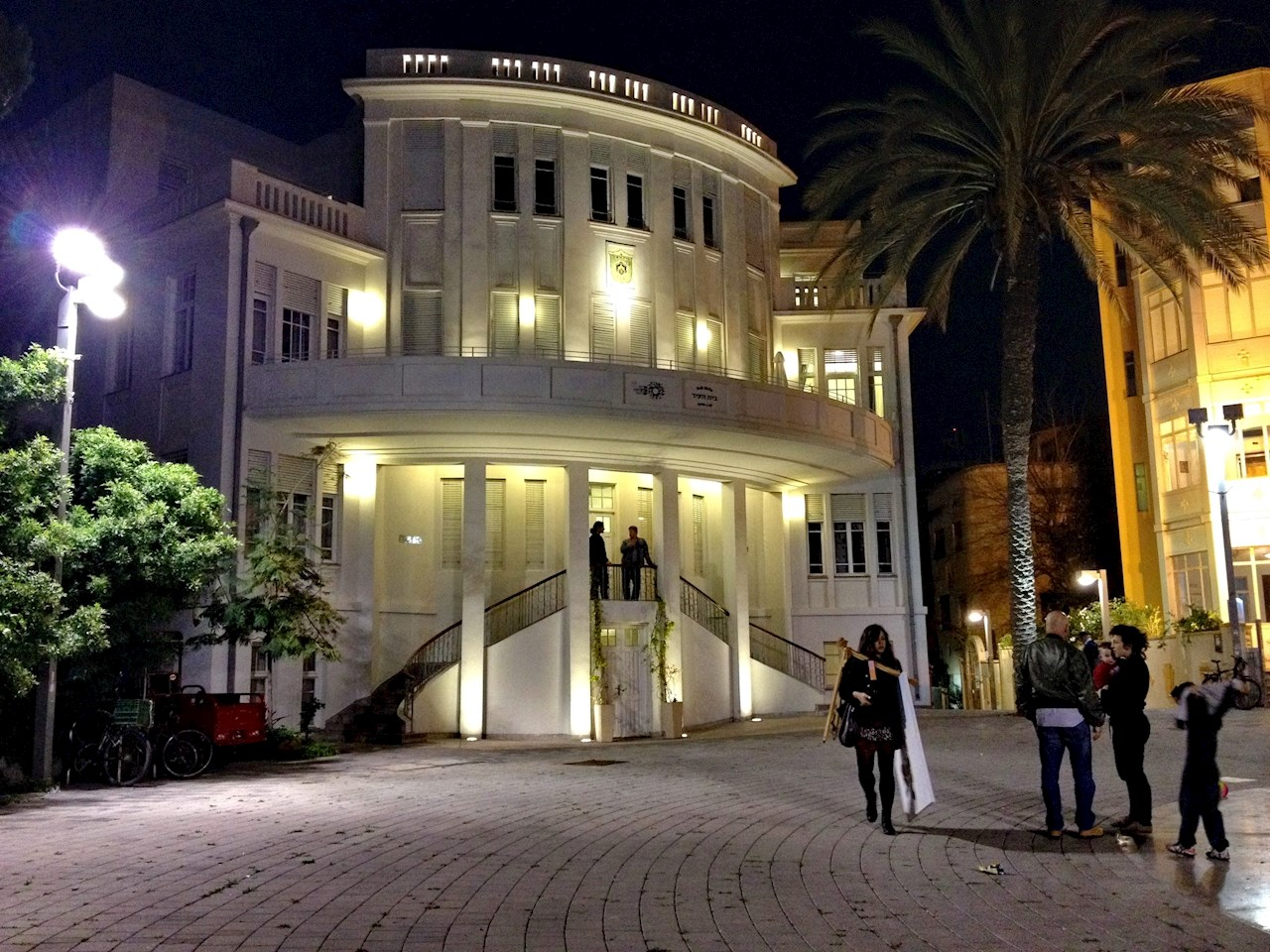 Old city building in Tel Aviv