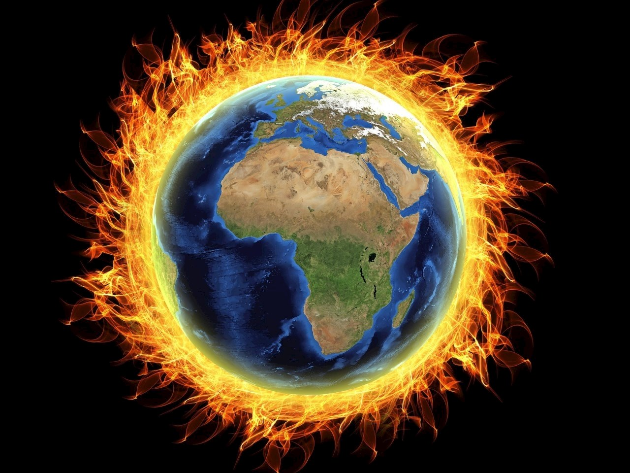 Earth is burning according to some