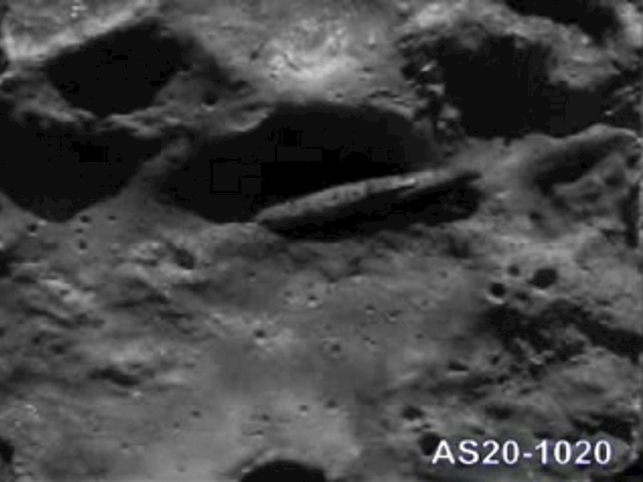 Presumed photo taken by Apollo 20 crew in August 1976