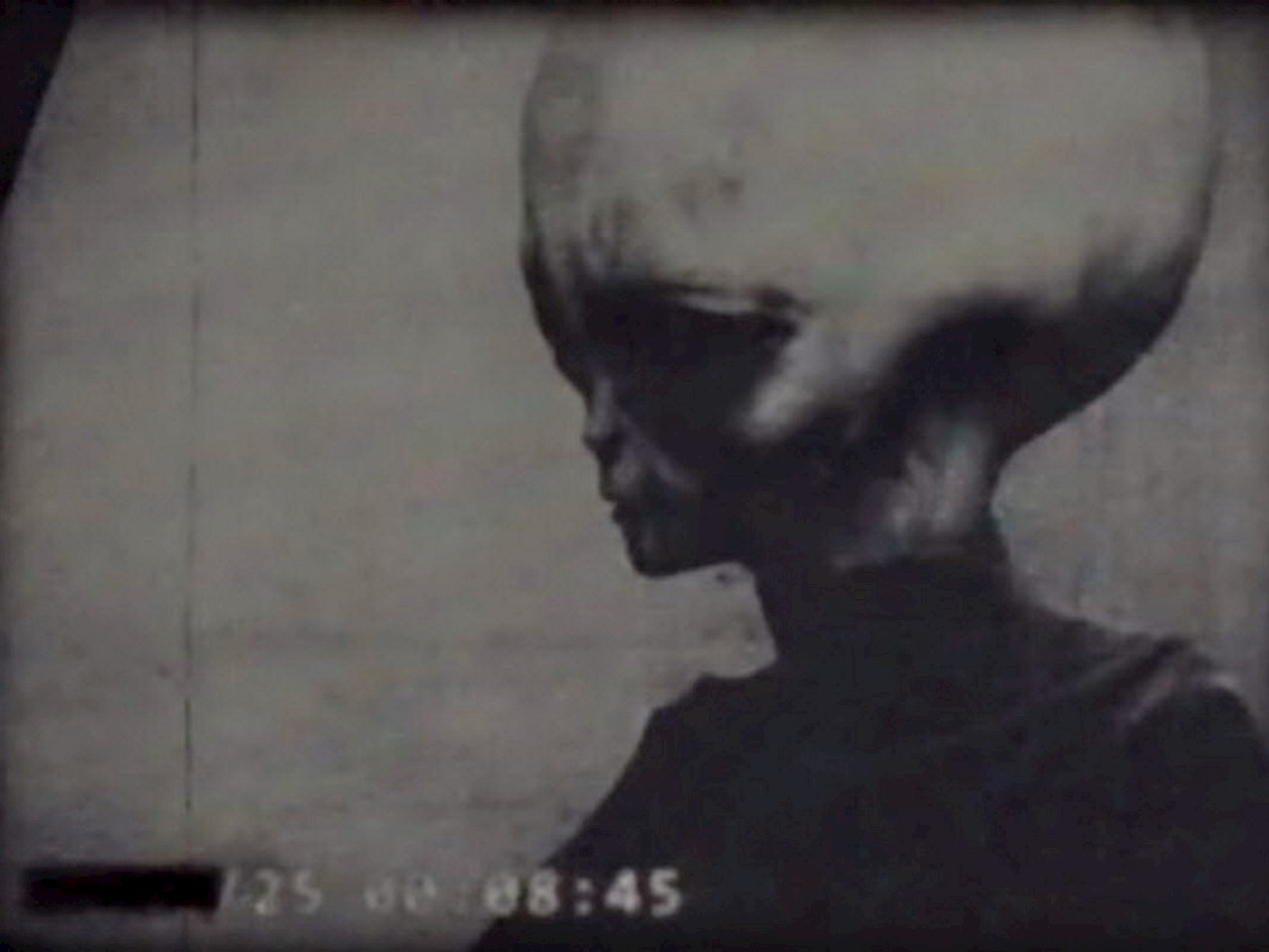UFO Today - Leaked footage of Alien A K A  Skinny Bob from Zeta