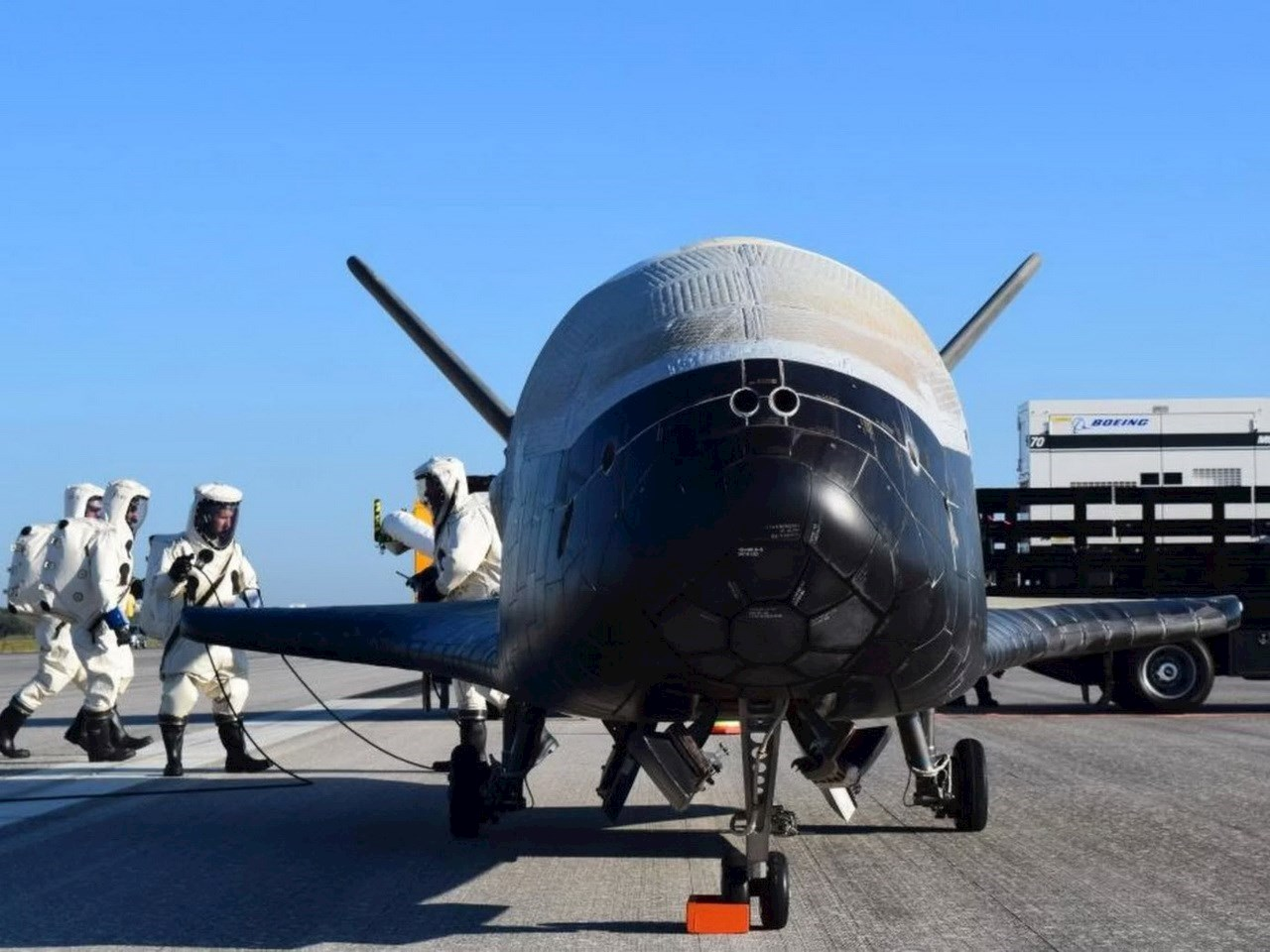 The US Air Force's 4th mystery X-37B space plane mission