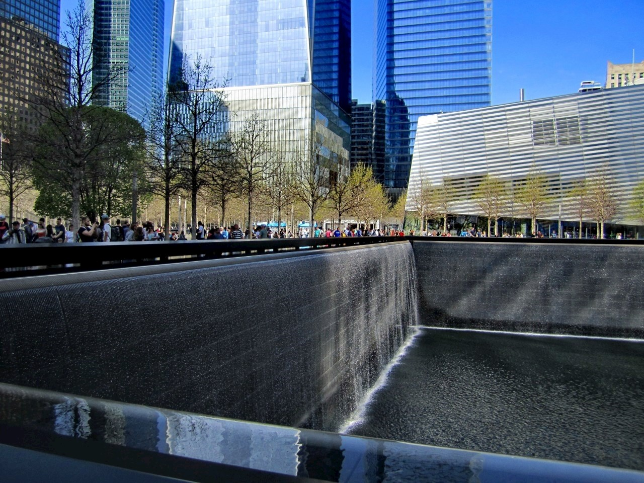 The National September 11 Memorial in New York City