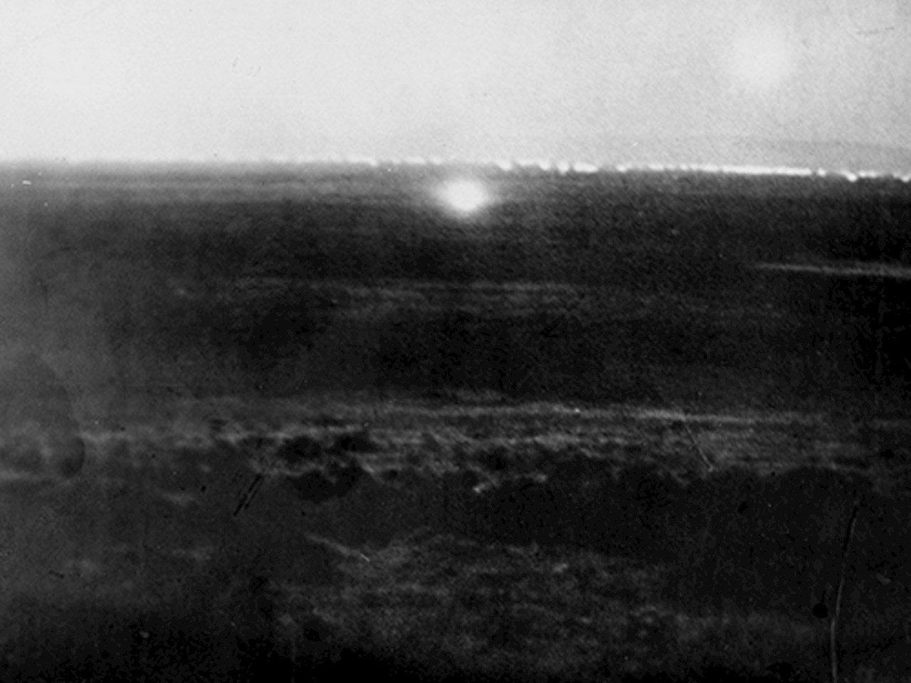 Large, unidentified light over the dry lakes