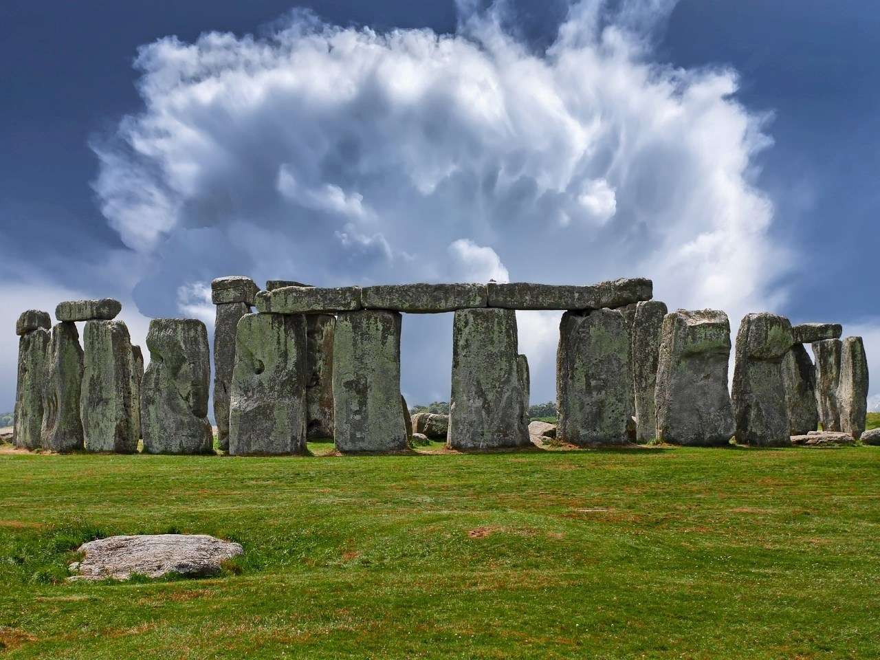 Stonehenge during modern times