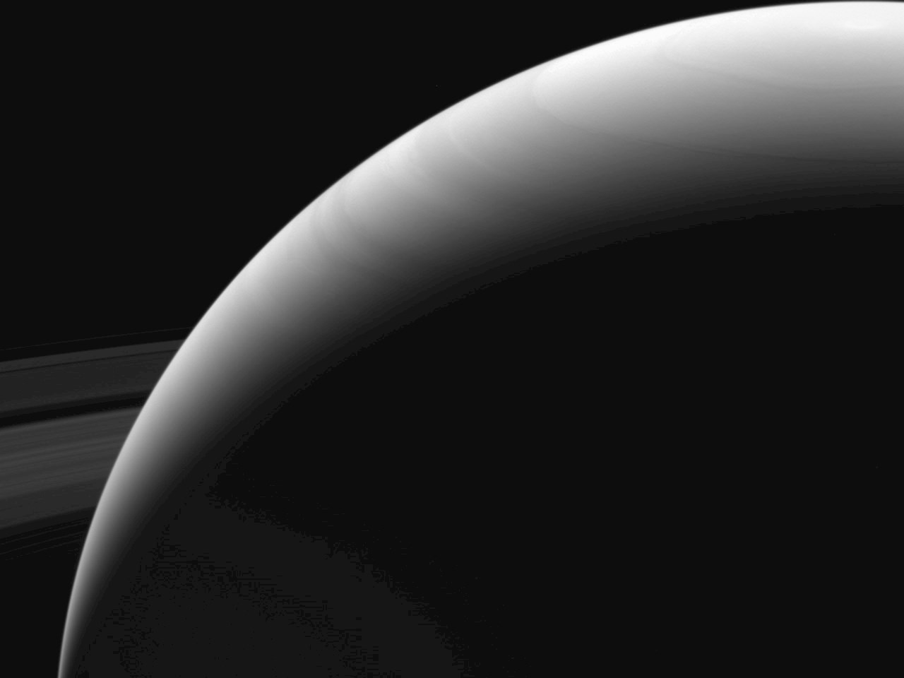 Saturn before the plunge
