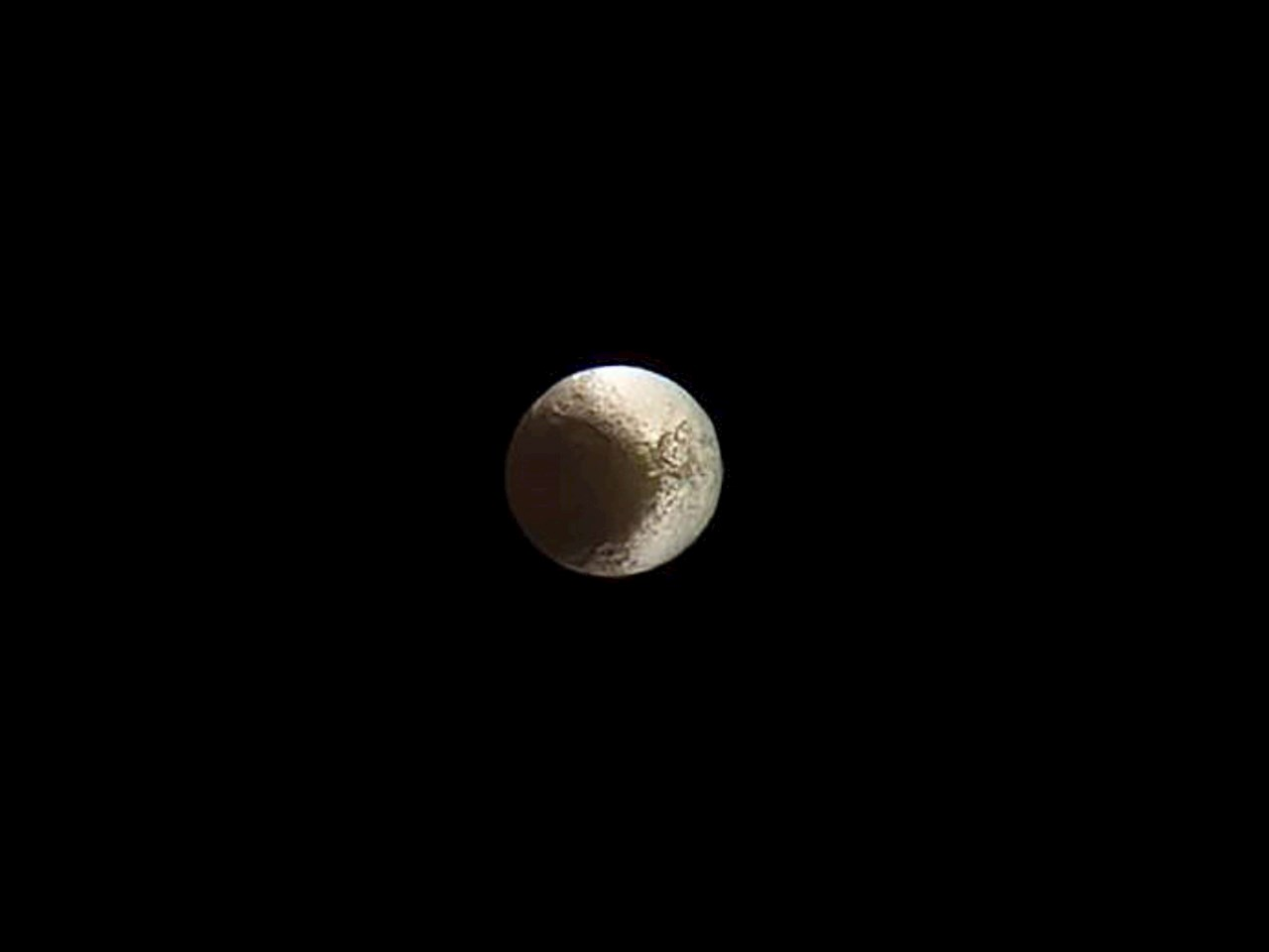 Farewell to Iapetus
