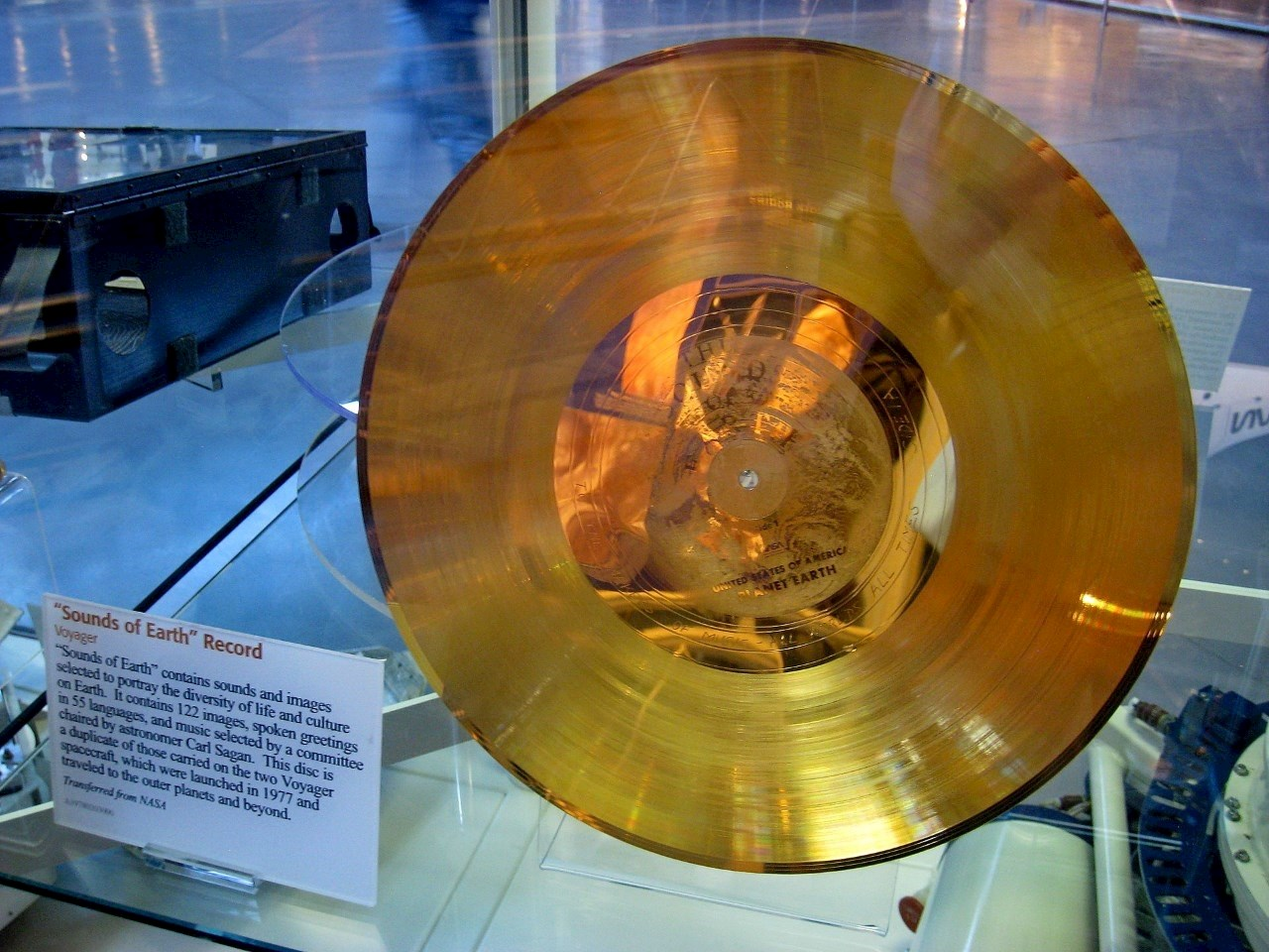 "Voyager ""Sounds of Earth"" record"