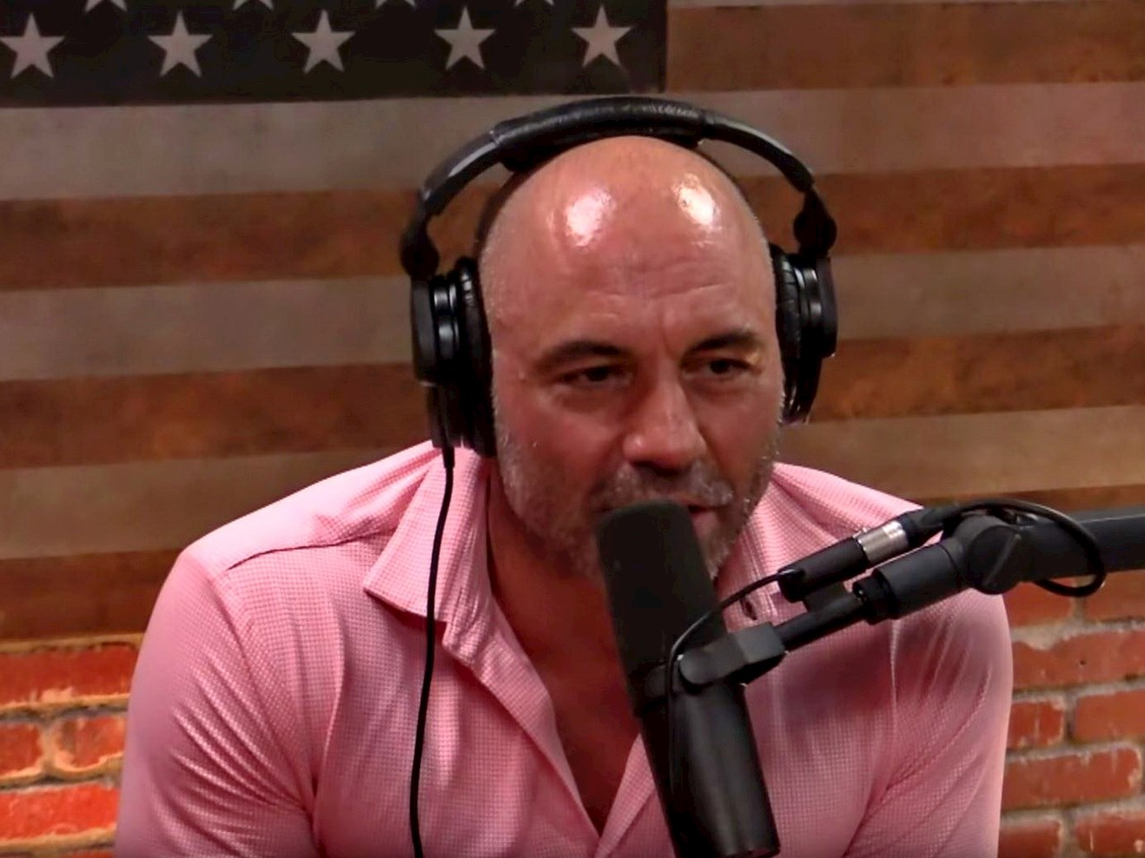 Joe Rogan interviewing Elon Musk