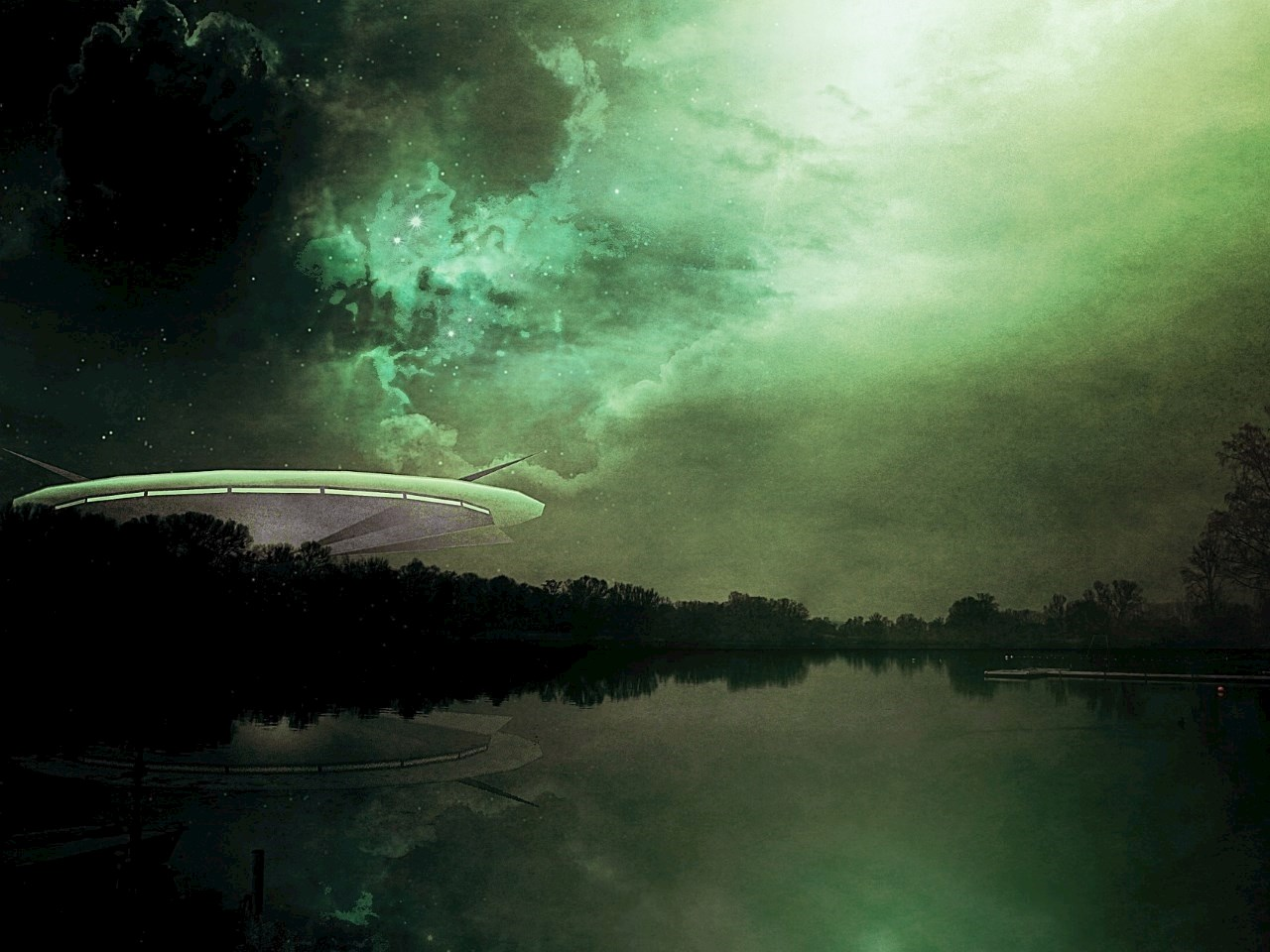 Illustration of an Unidentified Flying Object