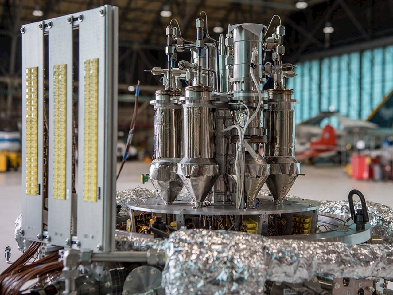 The Kilopower prototype includes a Stirling power conversion system